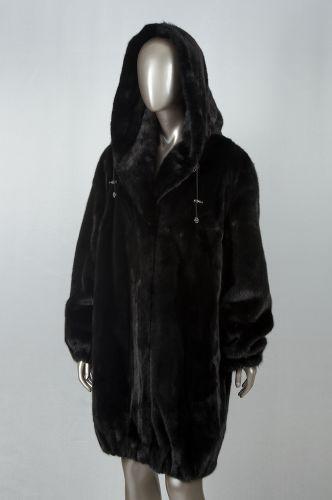 Шубы натуральные : куртка из лисы